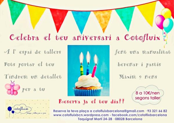 Aniversaris Cotofluix