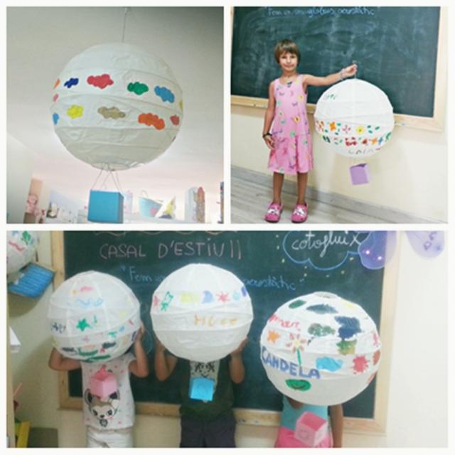 montatge taller globus