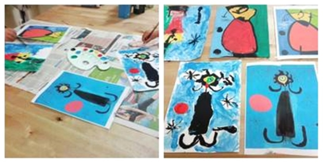 pintem un Miró